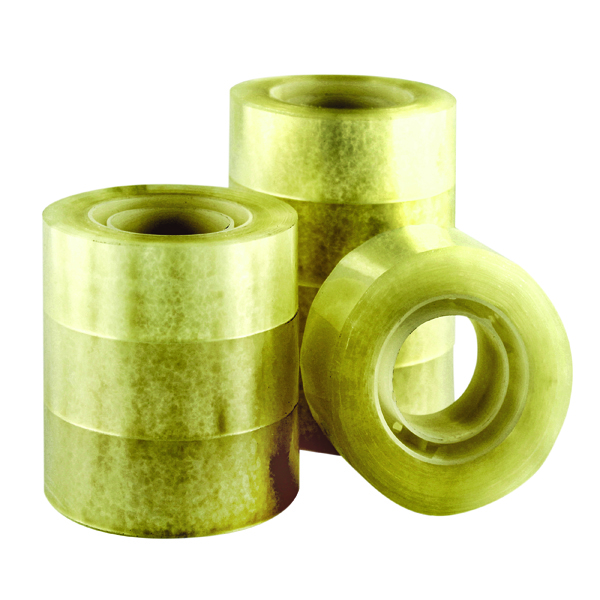 Q-Connect Adhesive Tape 19mm x 33m (Pack of 8) KF27013