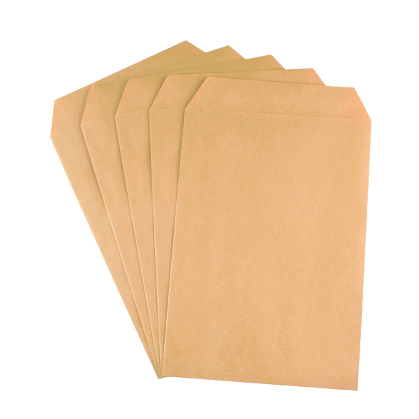 Q-Connect C5 Envelopes Pocket Self Seal 90gsm Manilla (Pack of 500) X1074/01