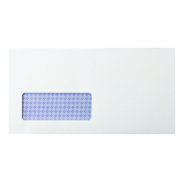 Q-Connect DL Envelopes Window Self Seal 80gsm White (Pack of 1000) KF3455