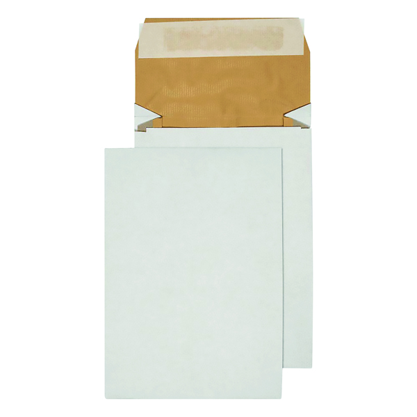 Q-Connect Padded Gusset Envelopes C5 229x162x50mm Peel and Seal White (Pack of 100) KF3530