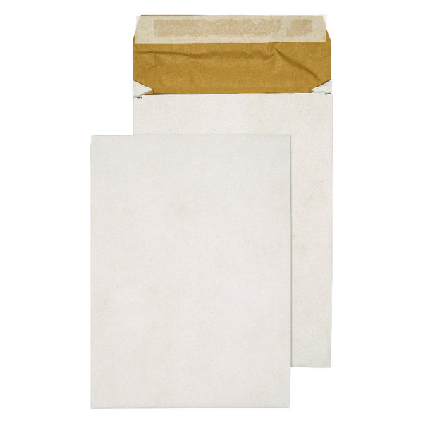 Q-Connect Padded Gusset Envelopes C4 324x229x50mm Peel and Seal White (Pack of 100) KF3531