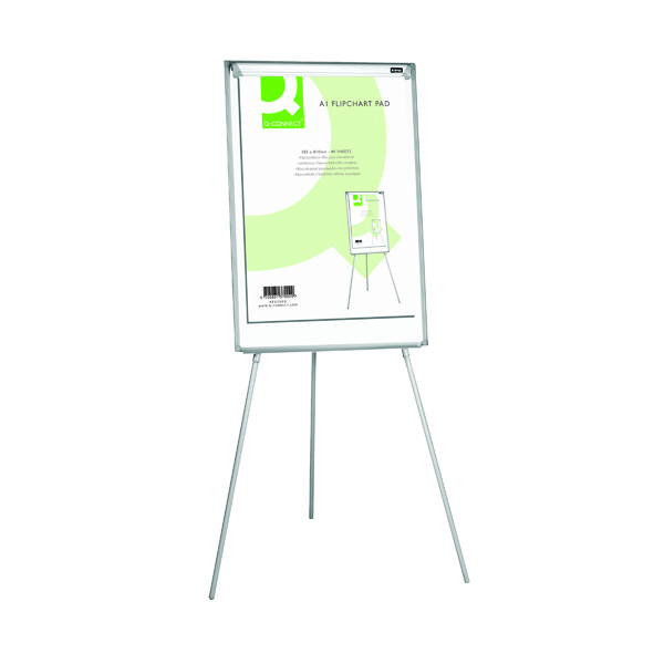 Q-Connect Plain Flipchart Pad A1 40 Sheet (Pack of 5) KF37002