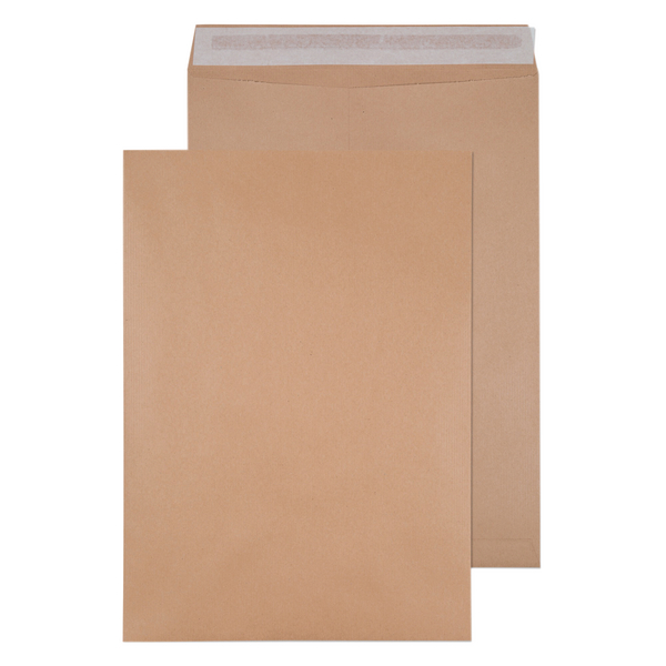 Q-Connect Envelope 458x324mm Pocket Self Seal 135gsm Manilla (Pack of 125) 9011004