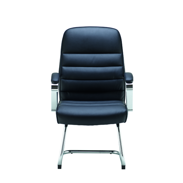 Jemini Ares Visitor Chair PU Black KF71522