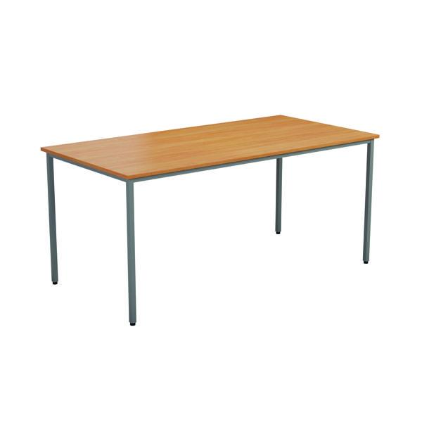 Jemini Rectangular Desk 1800 x 800mm Beech OMPT1880RECBE2