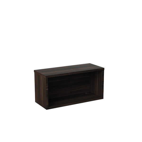 Jemini Reception Modular Riser Unit 800mm Dark Walnut RCM800SHUDW