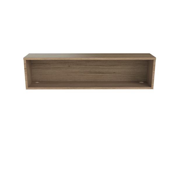 Jemini Reception Modular Riser Unit 1600mm Grey Oak RCM1600SHUGO