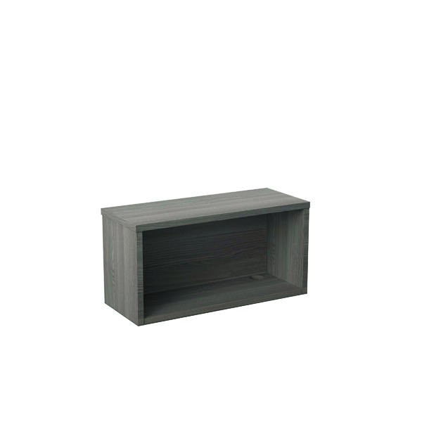 Jemini Reception Modular Riser Unit 800mm Grey Oak RCM800SHUGO