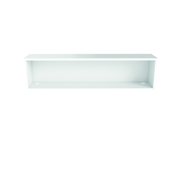 Jemini Reception Modular Riser Unit 1600mm White RCM1600SHUWH