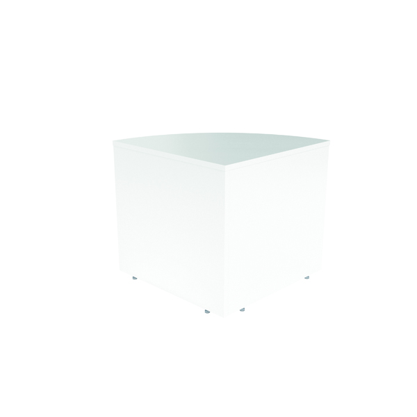 Jemini Reception Modular Corner Desk Unit White RCMCBWH