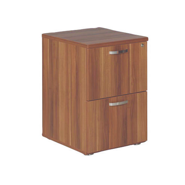 Avior Cherry 2 Drawer Filing Cabinet KF72324