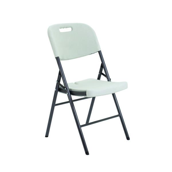 Jemini White Folding Chair (Seat Dimensions: W380 x D480mm) KF72332