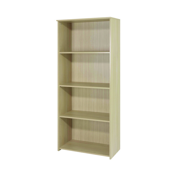 Serrion Ferrera Oak 1750mm Large Bookcase (Dimensions: W740 x D340 x H1750mm) KF73515