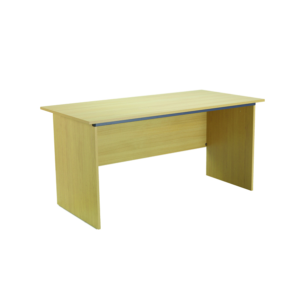 Serrion Ferrera Oak 1500mm Panel End Desk (Dimensions: W1500 x D750 x H726mm) KF73663