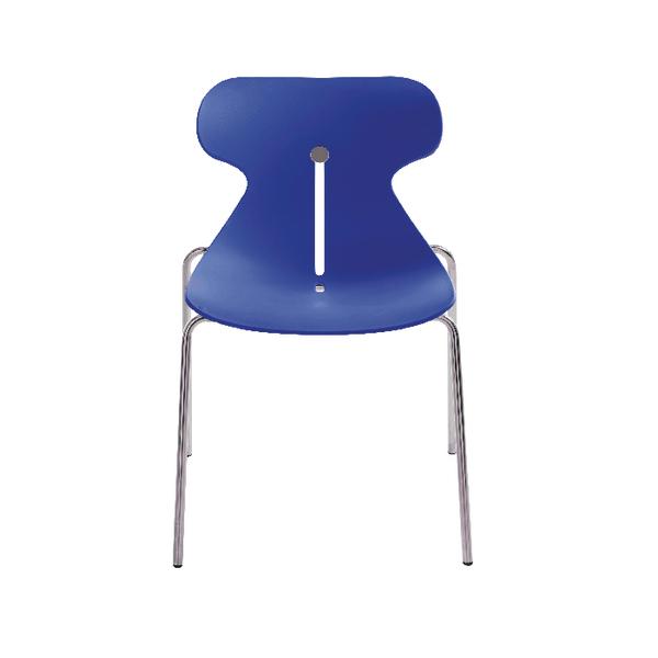 Arista Breakout Chair Blue (Seat Dimensions: W480 x D440mm) KF73896