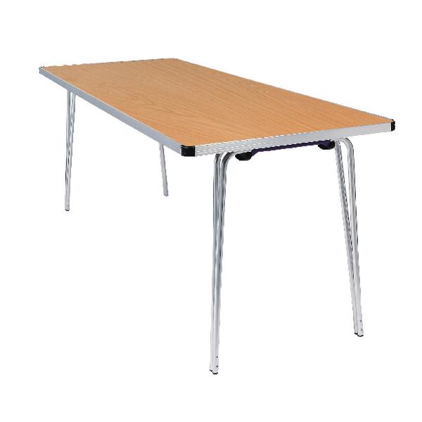 Jemini Saxon Oak W1830xD685xH698mm Folding Table KF74024