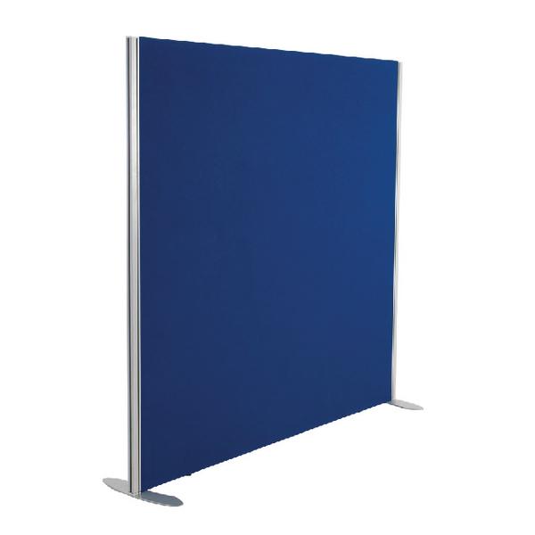 Jemini Blue 1800x1600 Floor Standing Screen Including Feet KF74340