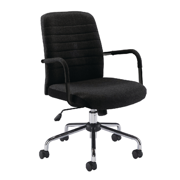 Jemini Black Rhine Soho Chair (Suitable for up to 5 Hours) KF74823