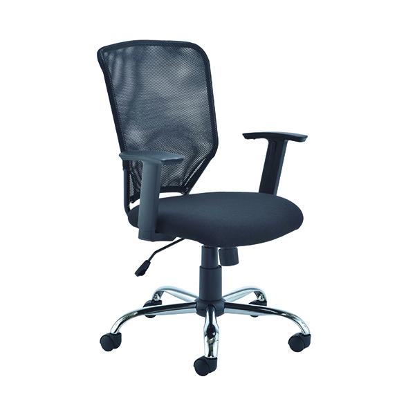 First Mesh Task Chair Black (Seat Dimensions: W500 x D480mm)  KF74832