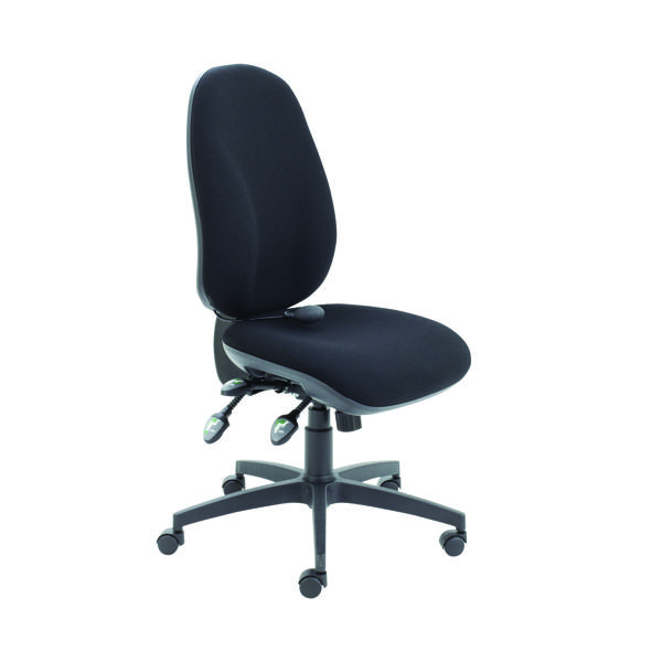 Cappela Black Ergo Maxi Chairs (Suitable for up to 8 hours) KF78699
