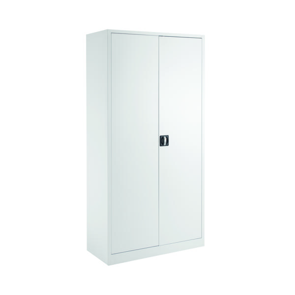 Talos Double Door Stationery Cupboard 1790 White KF78755