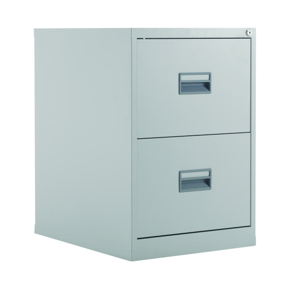 Talos 2 Drawer Filing Cabinet Grey KF78764
