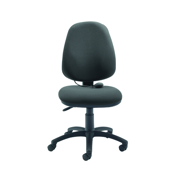 FR First High Back Posture Chair Charcoal (Lumbar Pump for seat height: 460 - 590mm) KF78910