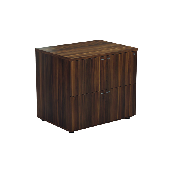 Jemini Walnut 2 Drawer Side Filer KF78952