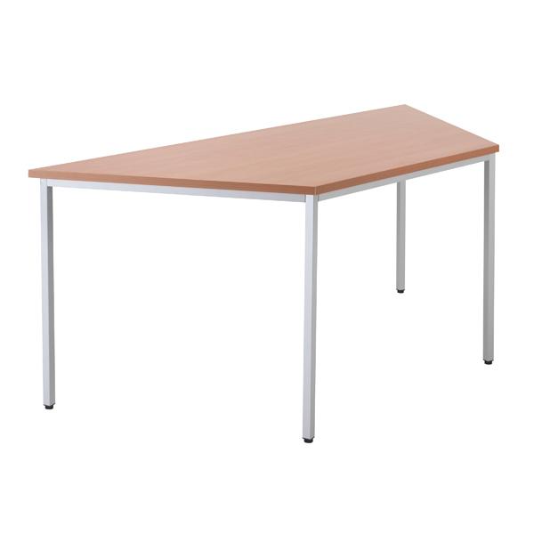 Jemini Beech 1600mm Trapeze Table KF79034