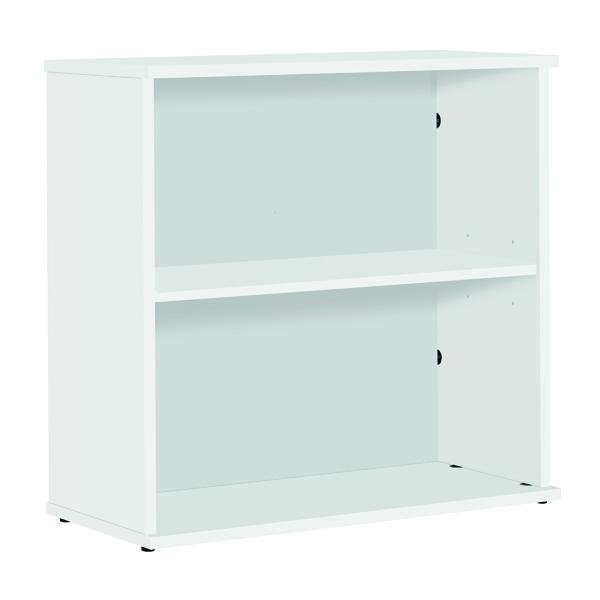 Serrion Bookcase 800mm White E800BCWH