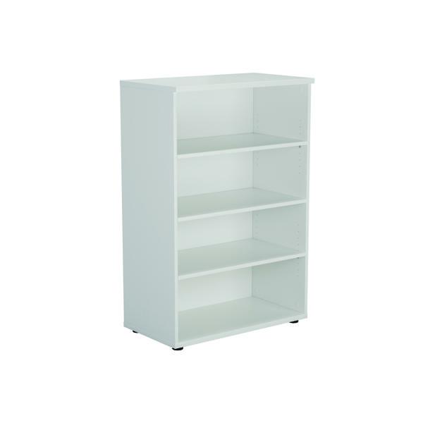 Serrion Bookcase 1200mm White E1200BCWH