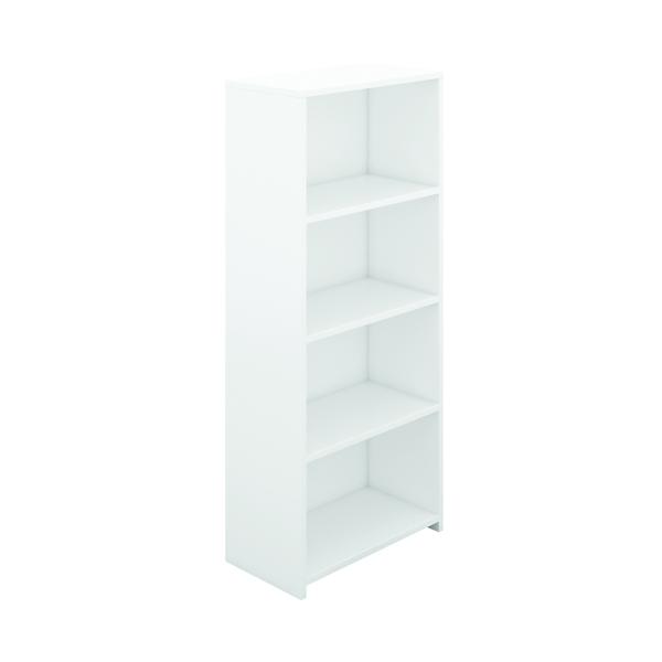 Serrion Bookcase 1750mm White E1750BCWH