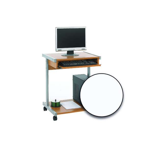 Serrion Mobile Workstation 650mm White ECS650WH