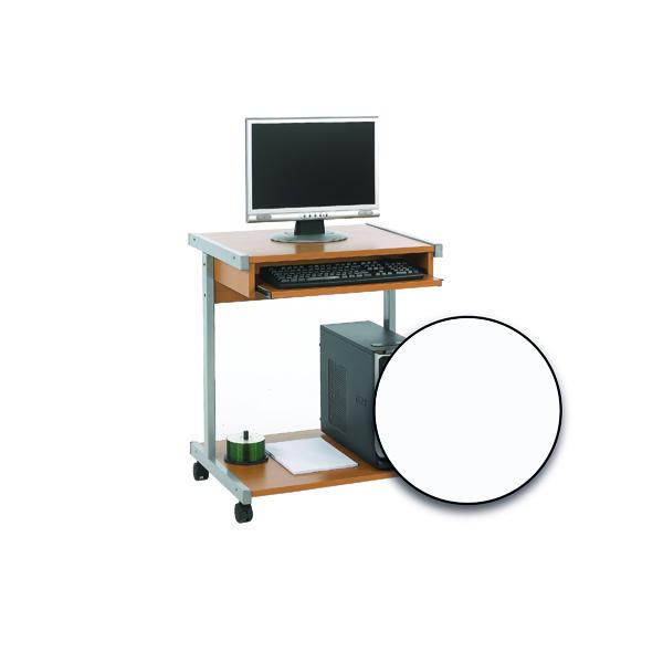 Serrion Mobile PC/Printer Stand White EMPSWH