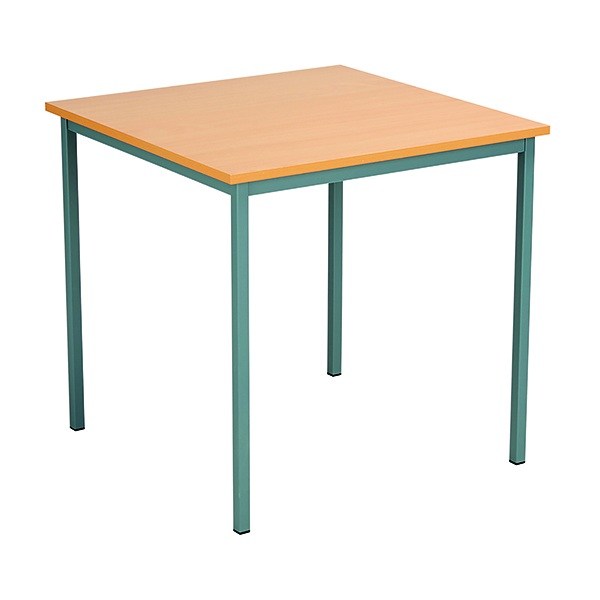 Serrion Square Desk 750mm Bavarian Beech ESQUT750BE