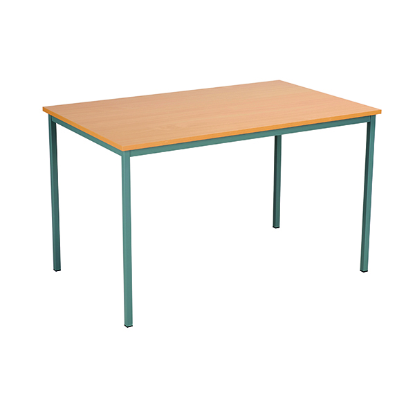 Serrion Rectangular Desk 1200mm Bavarian Beech ERECT1200BE
