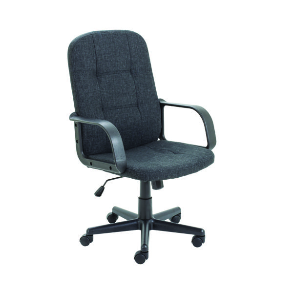 Jemini Jack 2 Fabric Executive Chair Charcoal KF79889