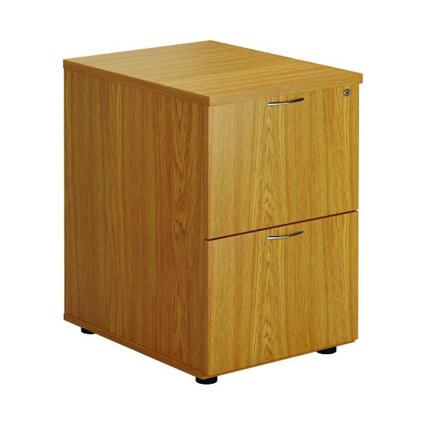 First Two Drawer Filing Cabinet Nova Oak TES2FCNO