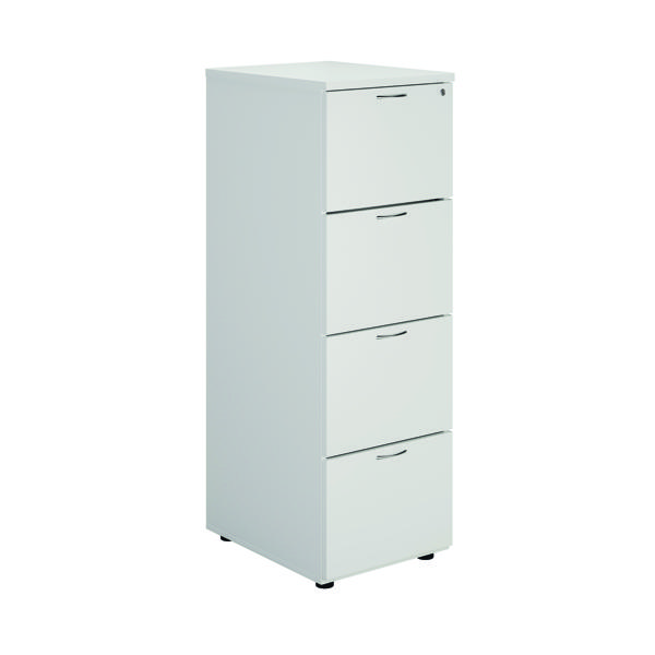 First White 4 Drawer Filing Cabinet KF79920