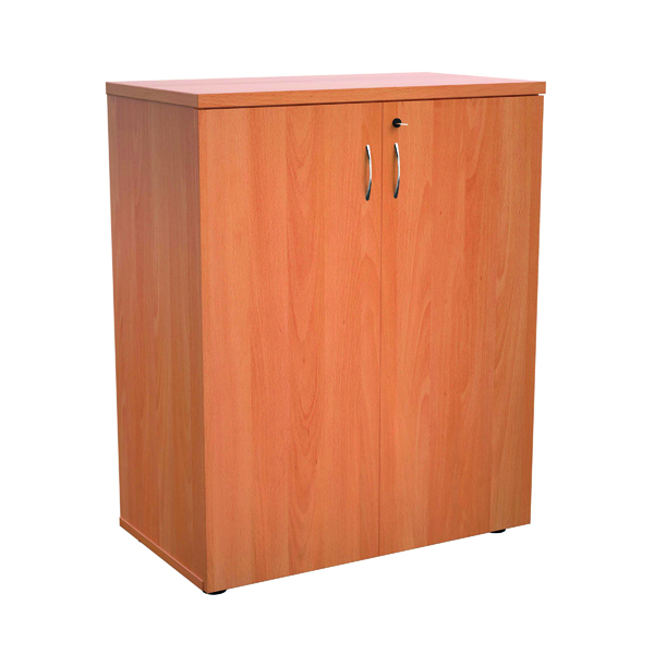 Jemini 1000 Wooden Cupboard 450mm Depth Beech KF810056