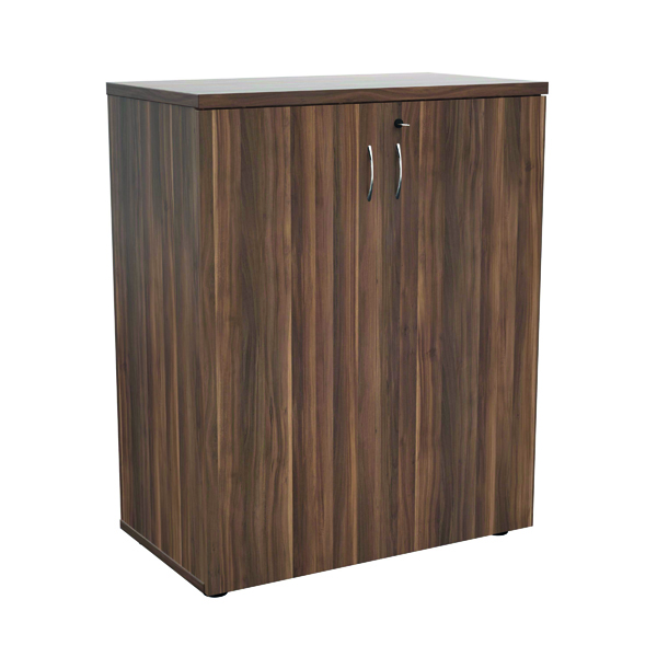 Jemini 1000 Wooden Cupboard 450mm Depth Dark Walnut KF810063