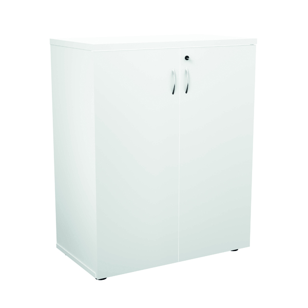 Jemini 1000 Wooden Cupboard 450mm Depth White KF810100