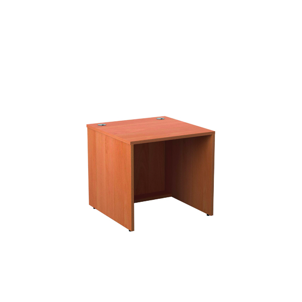 Jemini Reception Modular Straight Base Unit 800mm Beech KF816463
