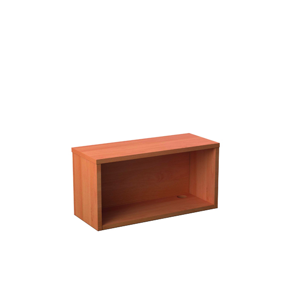 Jemini Reception Modular Straight Hutch Unit 800mm Beech KF816479