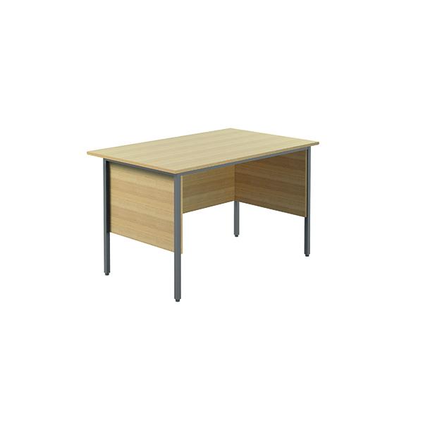 Serrion Ferrera Oak 1200mm Four Leg Desk (Dimensions: W1200 x D750 x H730mm) KF838368