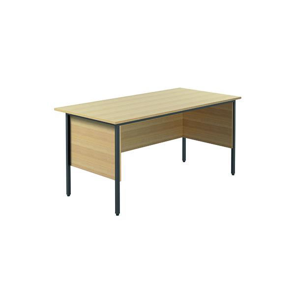 Serrion Ferrera Oak 1500mm Four Leg Desk (Dimensions: W1500 x D750 x H730mm) KF838370