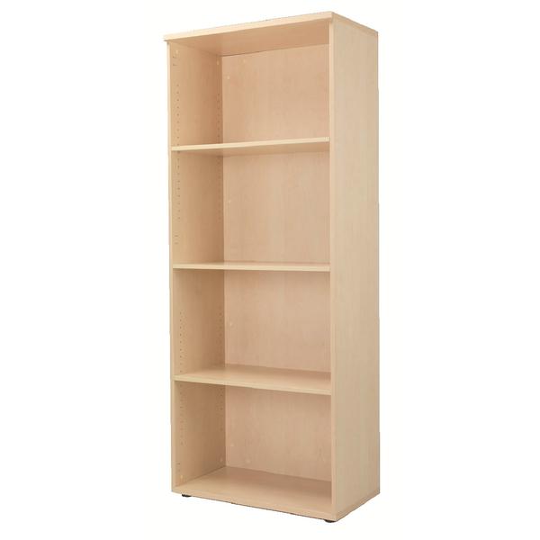 Jemini 4 Shelf Maple 2000mm Bookcase KF838423