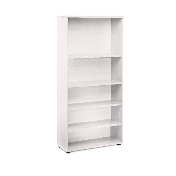 Jemini White 1800mm Bookcase 4 Shelves KF838620