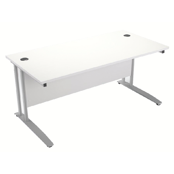 Arista 1800mm Rectangular Desk White KF838678