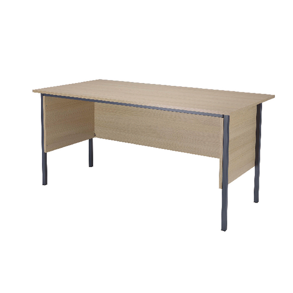 Serrion Warm Maple 1800mm 4 Leg Desk KF838785